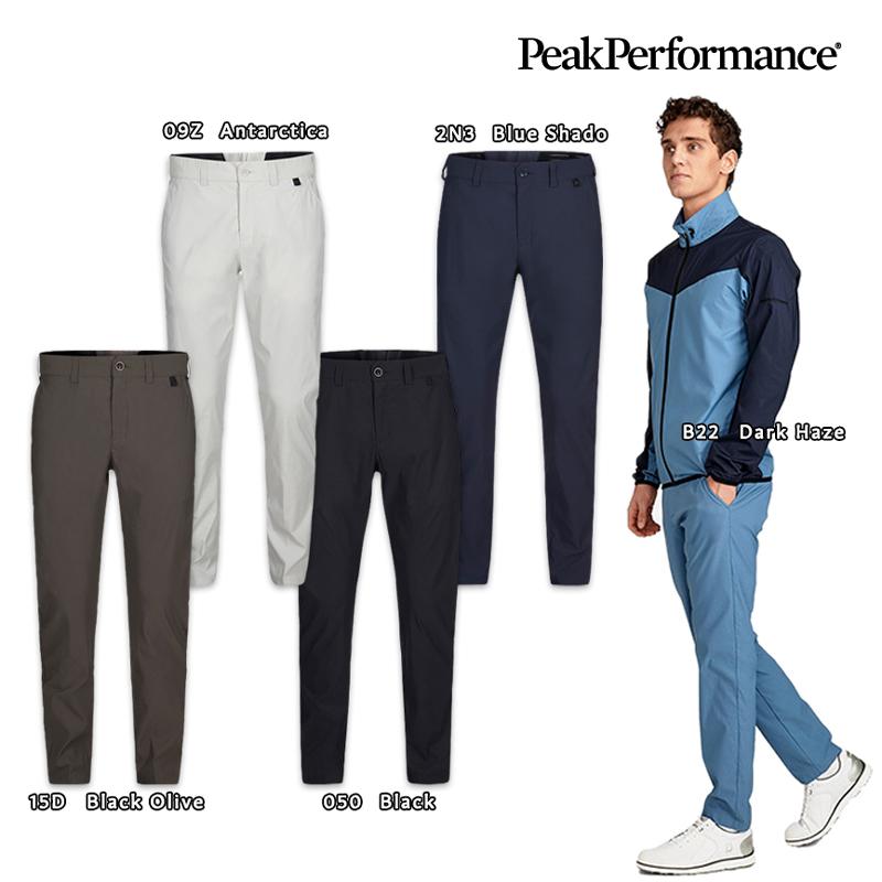 「トラッド×スポーツ」 ゴルフウェア パンツ メンズ PeakPerformance(ピークパフォーマンス) G76893 Player Pants(プレイヤー パンツ)
