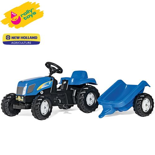 ローリートイズ 足こぎトラクター New Holland KID RT013074 組立要 Rolly toys 足けり 乗用玩具 乗り物 子ども プレゼント ギフト