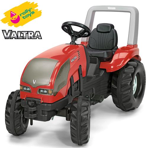 ローリートイズ 足こぎ大型トラクター VALTRA X-trac RT036882 組立要 Rolly toys 足けり 乗用玩具 乗り物 子ども プレゼント ギフト T志 代引不可