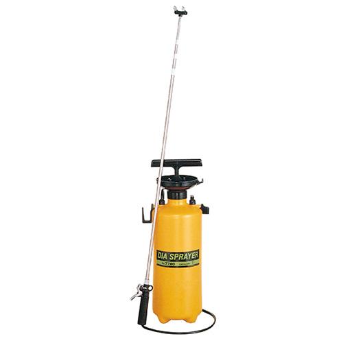 フルプラ プレッシャー式 噴霧器 No.7760 2頭式 最長3m 伸縮ノズル (4段式)付 7L用 霧吹き ミスト 細かい 霧 丈夫 金TD