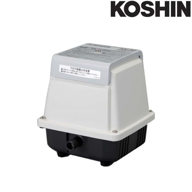 浄化槽用エアーポンプ ブロワポンプ AK-40 吐出空気量40L/分 AC-100V 工進 KOSHIN 省エネタイプ 低騒音 低振動 シB 代引不可