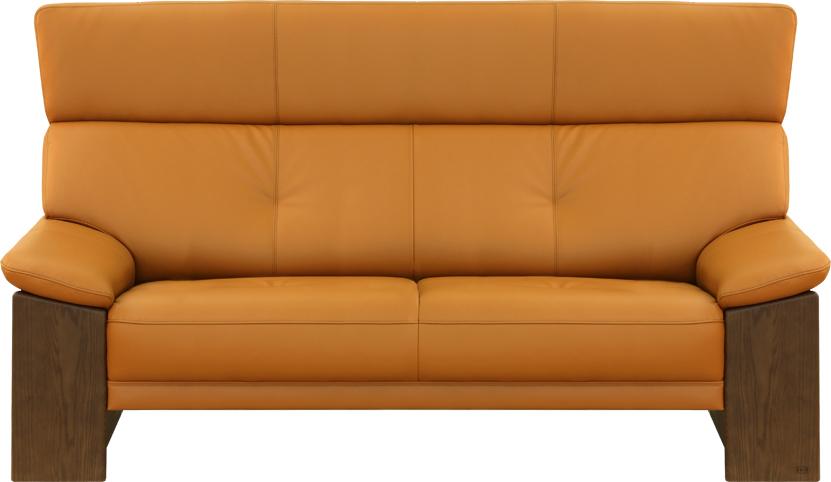 ワイド2人掛けソファ 7200(ナチュラル) WL7204(79)皮革