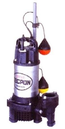 寺田ポンプ PGA-250T(50Hz/60Hz) 水中ポンプ 汚水用 自動形 PGA形 3相200V 口径40mm