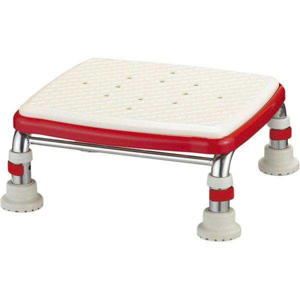 アロン化成 安寿 ステンレス製浴槽台R ミニ レッド 15-20 購入 価格
