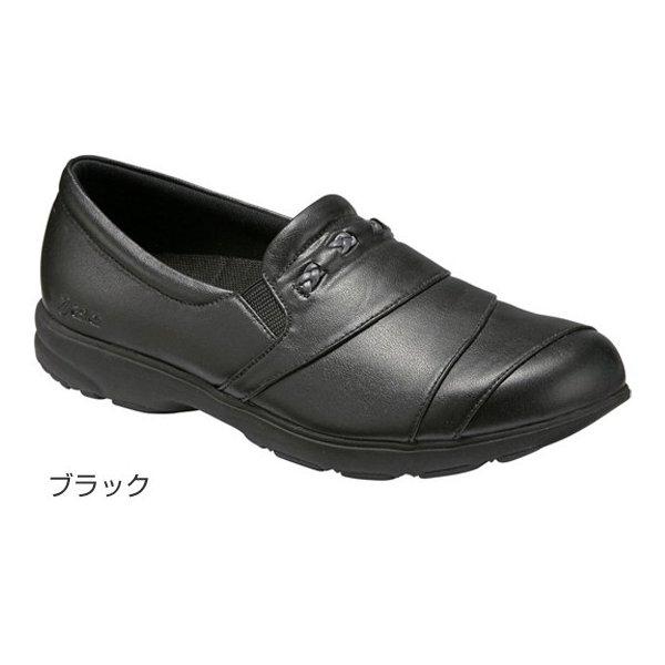 アシックス ライフウォーカー400/ブラック 23.5cm(足囲3E相当)