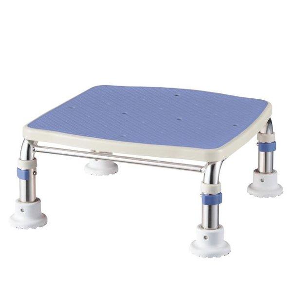 保証 アロン化成 安寿 ブルー ステンレス製浴槽台Rジャスト20-30 交換無料