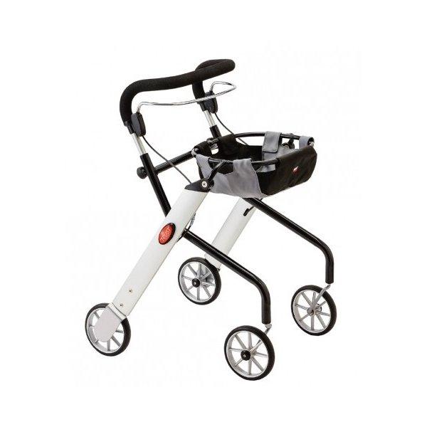 レッツゴーミニ/シルバー 室内専用歩行車(竹虎)