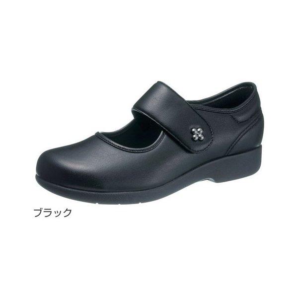 アサヒシューズ 快歩主義L129(足囲3E)/ブラック 24.0cm