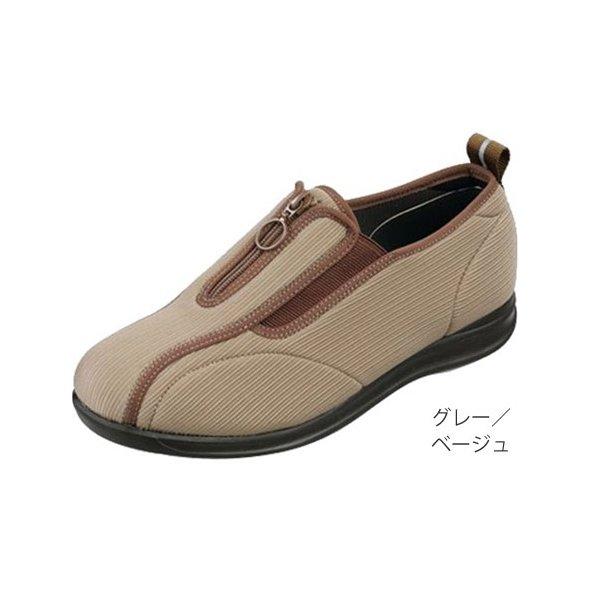 ピタ楽エムダー M915 グレー/ベージュ 26.0cm 左右一足(広島化成)