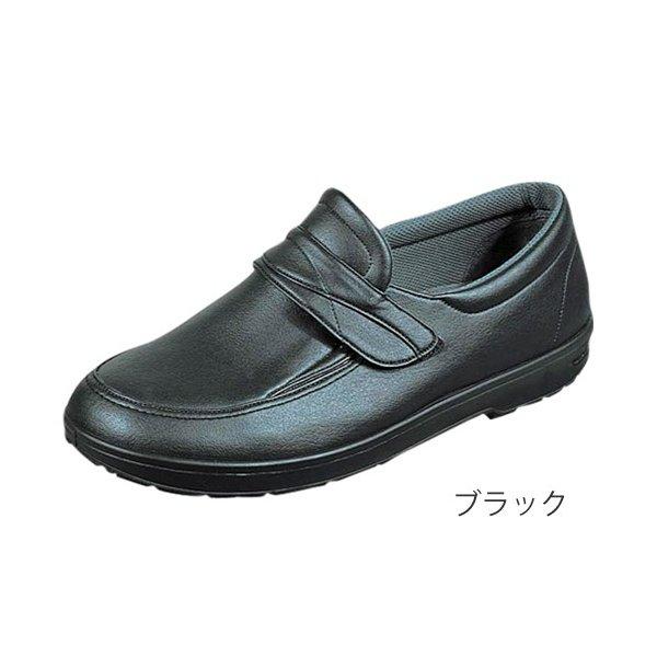 らくらくM001 26.5cm ブラック 左右一足(ムーンスター)