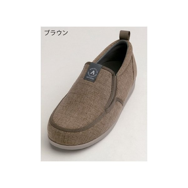 あゆみ SUTTO IN-スットイン(足囲3E)ブラウン/4L(26~26.5cm)左右一足(徳武産業)