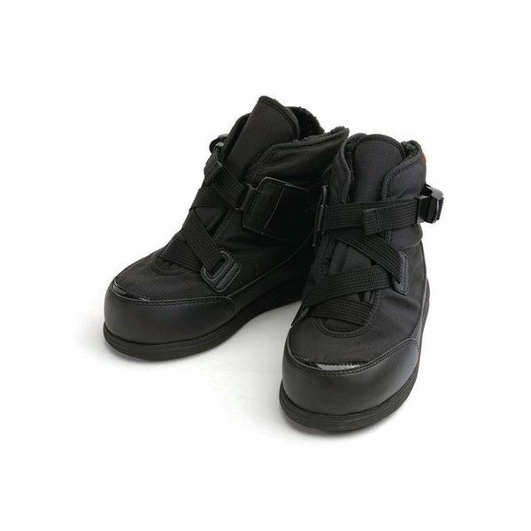 あゆみ 大きく開く防寒ブーツ(足囲7E)黒/4L(26~26.5cm)左右一足(徳武産業)