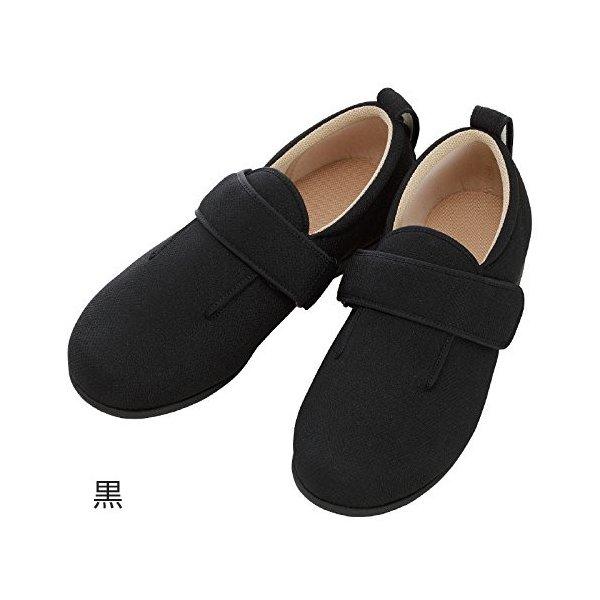 あゆみ ダブルマジックIII(足囲5E)黒/S(21~21.5cm)左右一足(徳武産業)