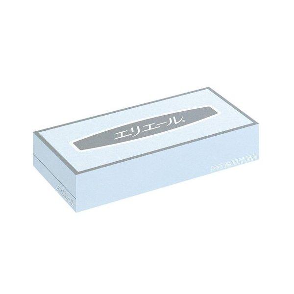 (ケース販売)エリエール ティシュー100W(水解性)60箱入(大王製紙)