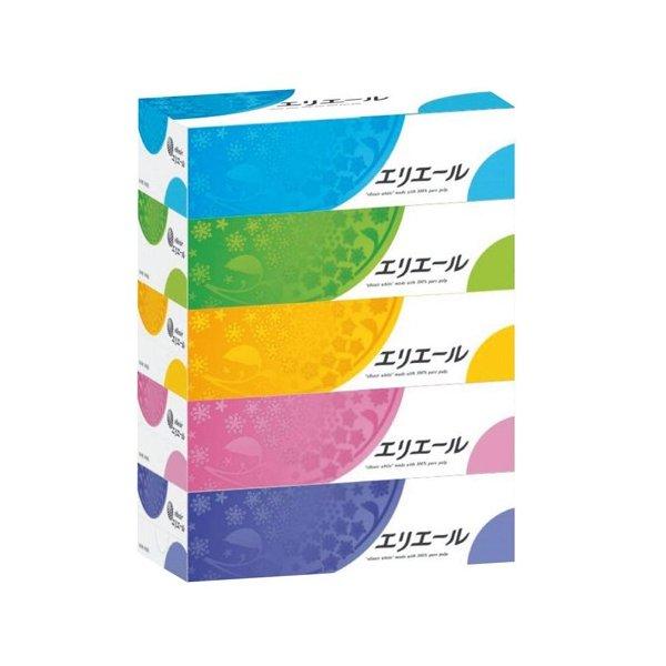 (ケース販売)エリエール ティシュー(180組×60箱)(大王製紙)
