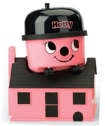 海蒂海蒂房子 (粉红色) 亨利清洗机