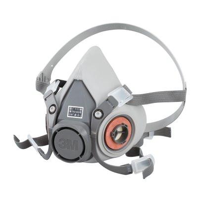 3M 防毒マスク半面形面体 6000 Sサイズ 6000S 6個セット