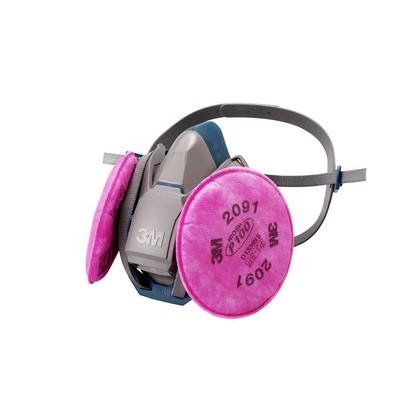 3M 取替式防じんマスク 6500QL/2091-RL3 Sサイズ  10個セット