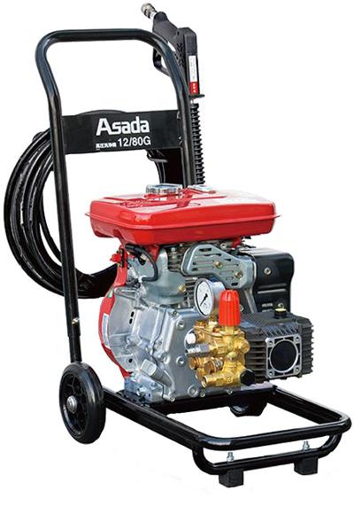 アサダ 高圧洗浄機 HD1208P 12/80GP