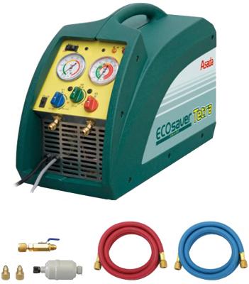 アサダ フロン回収装置 ES800 エコセ-バ-テトラ