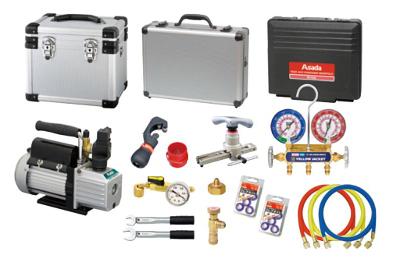 アサダ 空調工具セット ES654 エアコンコウグキツト