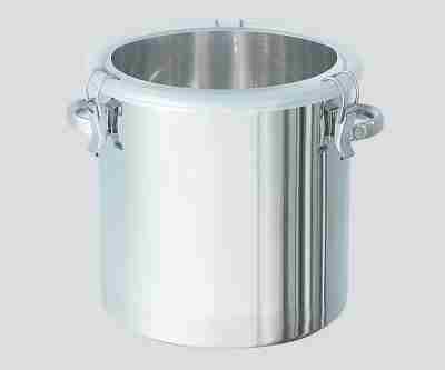 3-4802-01 透明蓋付ステンレス密閉容器CTH24AF