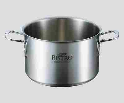 3-4843-01 半寸胴鍋 蓋無24cm