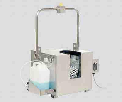 3-5083-01 洗剤投入式長靴洗浄衛生機器KLS-J02