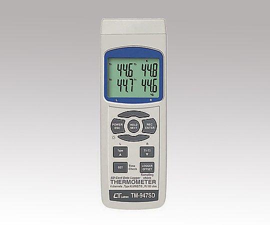 1-1450-01 データロガー温度計 TM-947SD
