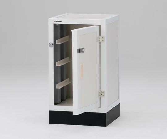 1-1631-01 ユニット型塩ビ薬品庫(下段)DK450