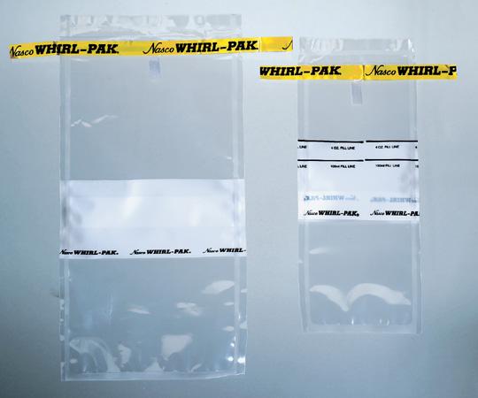1-1749-01 ナスコ・ワールパック 118mL 75×185mm 書き込み面あり B01062WA