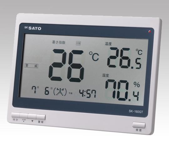 1-2296-01 熱中症暑さ指数計(屋内専用) SK-160GT