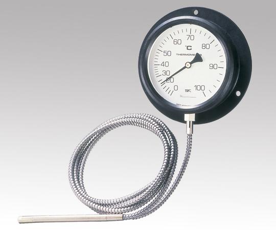 1-2584-01 壁掛け式隔測温度計 0~80℃