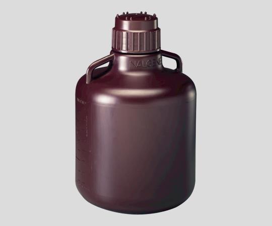 1-2687-07 広口試薬ボトル 褐色 1000mL