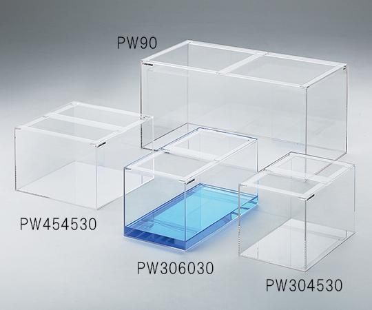 1-2982-11 マーケティング アクリル水槽 新品 送料無料 約33L