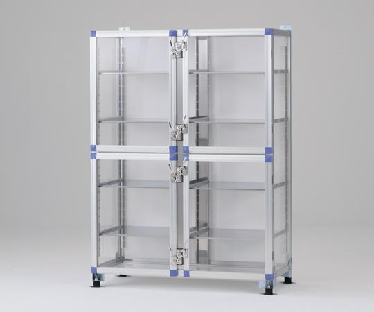1-2988-01 免震デシケーター 強化プラスチック