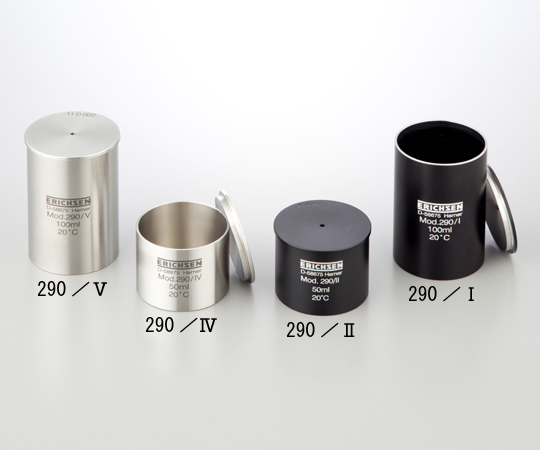 1-3420-01 ピクノメーター(比重カップ) 290/V