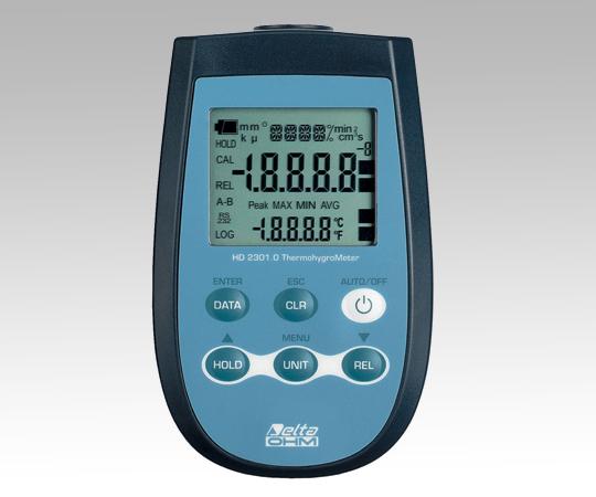 1-3447-02 温湿度計 本体
