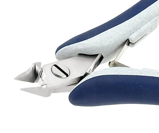 1-3479-12 ニッパー (硬質・スイス製) 小 フラッシュ 近接用テーパー