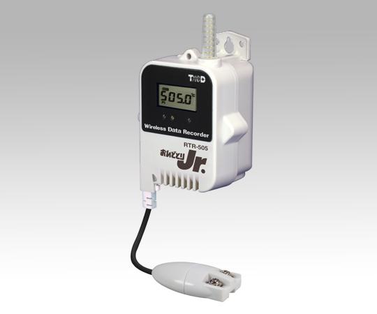 1-3523-02 おんどとり ワイヤレスデータロガー(子機)温度(Pt100/1000)×1ch 大容量バッテリー