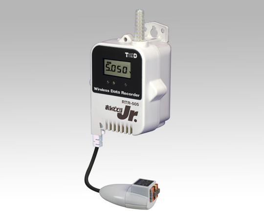 1-3525-02 おんどとり ワイヤレスデータロガー(子機)電圧×1ch 大容量バッテリー