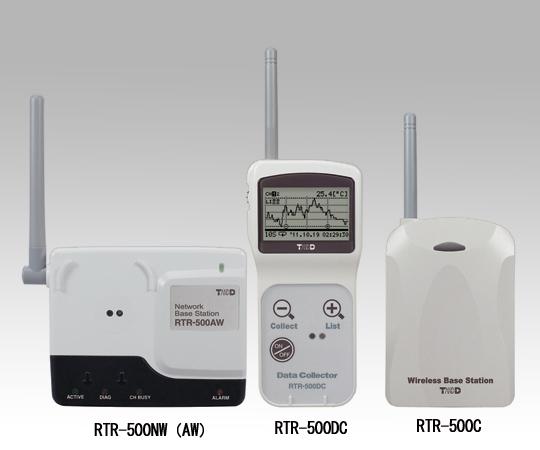 1-3528-02 おんどとり ワイヤレスデータロガー(ネットワークベースステーション・有線LAN)RTR-500NW
