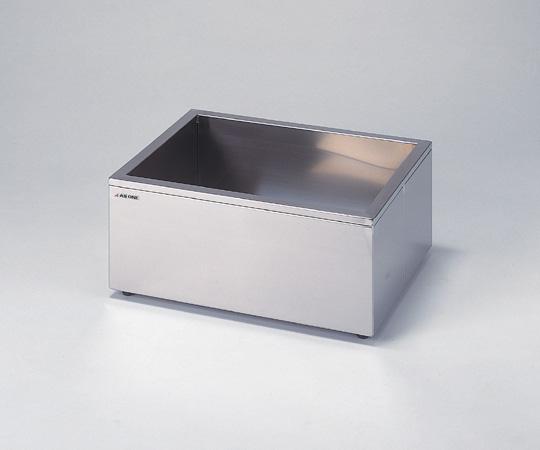 1-4163-01 ステンレス水槽 角型(断熱材入り) 12.6L