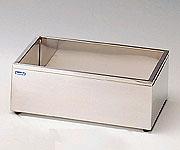 1-4163-03 ステンレス水槽 角型(断熱材入り) 26.2L