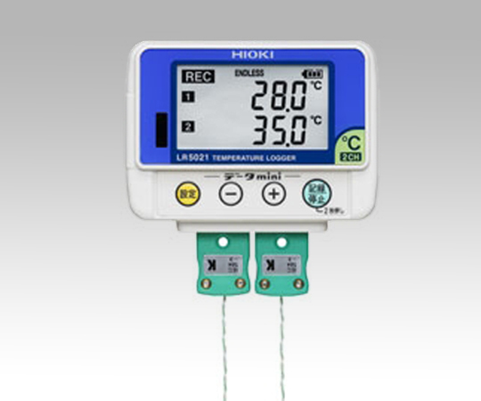 1-5840-33 データミニ LR5021/温度ロガー(熱電対)