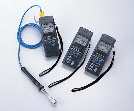 1-591-13 デジタル温度計 2ch多機能 TX10-03 メモリ機能付