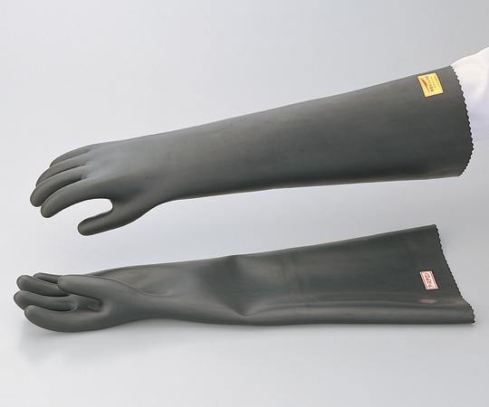 1-6313-01 静電気用手袋 GC-8 黒