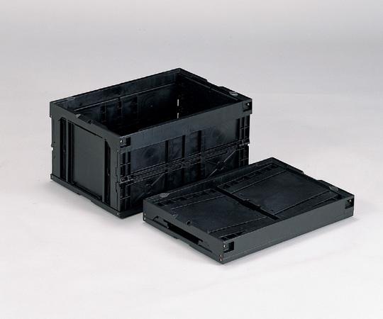 1-6406-01 オリタタミコンテナー(導電) 40B-N
