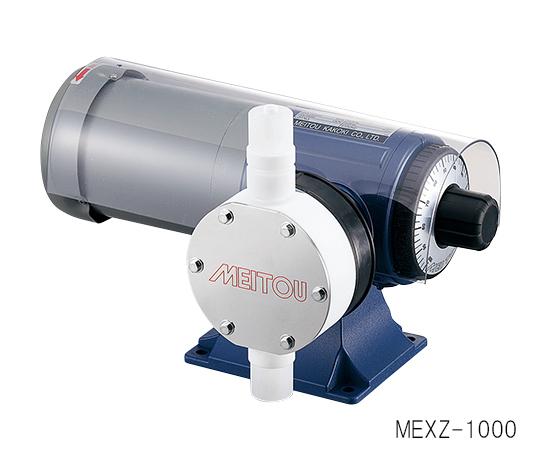 1-647-16 ダイヤフラム式定量ポンプ (50Hz)200~2000mL/min (60Hz)240~2400mL/min 塩化ビニル樹脂