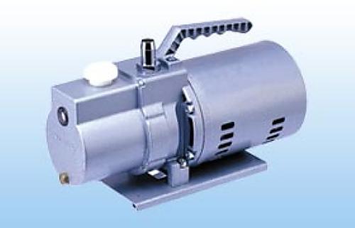 1-672-08 油回転真空ポンプ 156×344.5×199.5mm 二段式